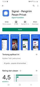 Cara Memakai Aplikasi Signal Pesan di Smartphone Android 1