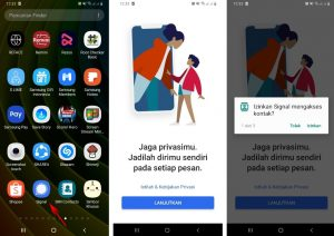 Cara Memakai Aplikasi Signal Pesan di Smartphone Android 2