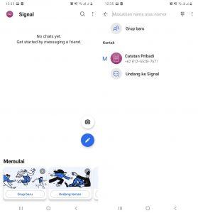 Cara Memakai Aplikasi Signal Pesan di Smartphone Android 5