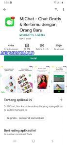 Cara Mendapatkan Banyak Teman Pengguna Sekitar Aplikasi MiChat 1