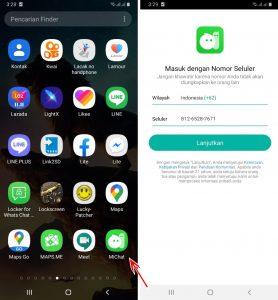 Cara Mendapatkan Banyak Teman Pengguna Sekitar Aplikasi MiChat 2