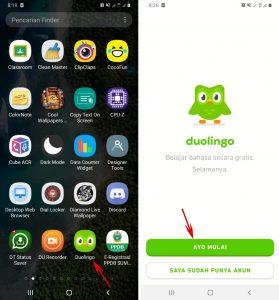 Cara Menggunakan Aplikasi Duolingo di Smartphone Android 2