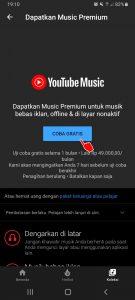 Cara Memutar YouTube Music Tanpa Iklan di HP Android 3