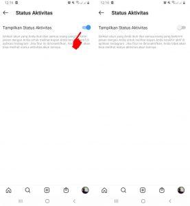 Cara Menyembunyikan Info Online di Instagram HP Android 5