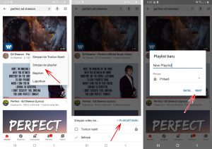 Cara Putar Lagu Youtube Secara Berulang (Repeat) di HP Android 3