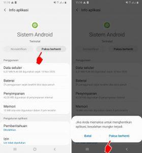 Solusi Peringatan Penggunaan Data HP Samsung Tidak Dapat di Hapus 4