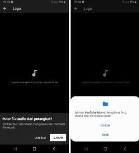 Cara Putar Musik Lagu di YT Music HP Android Tanpa Terhubung Internet 4