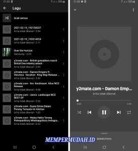 Cara Putar Musik Lagu di YT Music HP Android Tanpa Terhubung Internet 5