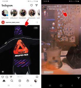 Cara Memakai Efek Filter Story Instagram via HP Android 2