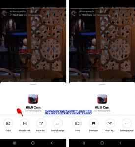Cara Memakai Efek Filter Story Instagram via HP Android 3