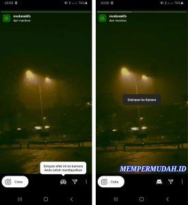 Cara Memakai Efek Filter Story Instagram via HP Android 5