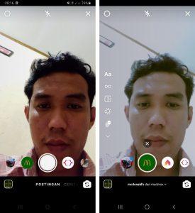Cara Memakai Efek Filter Story Instagram via HP Android 6
