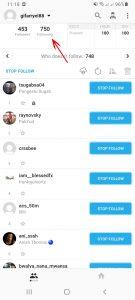 Cara Unfollow Langsung Semua Akun di Instagram via HP Android 7