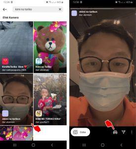Cara Menggunakan Filter Instagram Ada Lagu Musik di HP Android 4