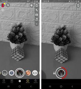Cara Menggunakan Filter SnapChat Untuk Story IG via HP Android 2