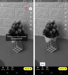 Cara Menggunakan Filter SnapChat Untuk Story IG via HP Android 3
