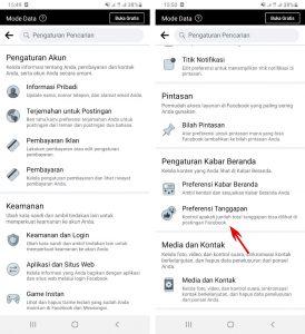 Cara Menyembunyikan Jumlah Like Status Facebook di HP Android 3