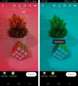 Cara Sembunyikan Nama Filter di IG Story Instagram HP Android 3