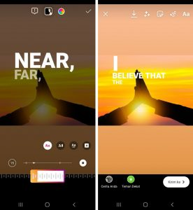 Cara Memasukan MusikLagu di Instagram Story HP Android 6