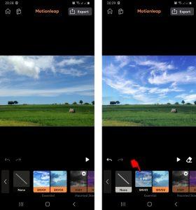 Cara Mengedit Foto Dengan Aplikasi Motionleap di HP Android 5