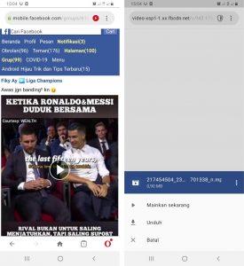 Cara Unduh Video Facebook di Grup Tertutup via HP Android 5