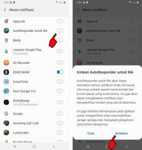 Trick Menjawab Pesan Chat Otomatis di WhatsApp HP Android 3