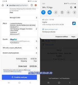Cara Belanja & Membayar Dengan Paypal di Situs Luar Negeri 5