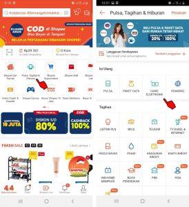 Cara Beli Saldo Kartu e-TollBrizzi Melalui Shopee di HP Android 2