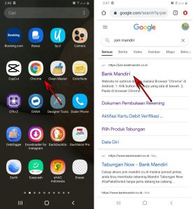 Cara Buka Rekening Mandiri + ATM Dari Smartphone Android 1