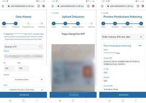 Cara Buka Rekening Mandiri + ATM Dari Smartphone Android 4