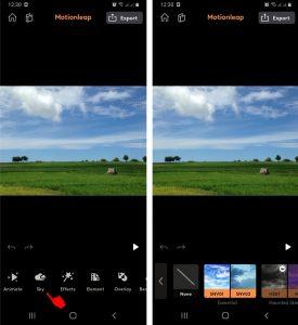 Cara Membuat Foto Awan Bergerak di Ponsel Android Terbaru 4