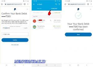 Cara Memverifikasi Akun Paypal (Verified) Lewat HP Android 8
