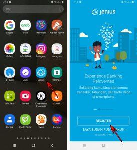 Cara Mendaftar Jenius + ATM di Aplikasi Smartphone Android 2