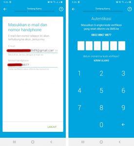 Cara Mendaftar Jenius + ATM di Aplikasi Smartphone Android 3