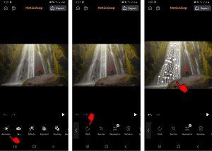 Cara Mengedit Foto Air Terjun Bergerak di HP Android 3