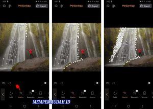 Cara Mengedit Foto Air Terjun Bergerak di HP Android 4