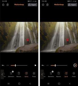 Cara Mengedit Foto Air Terjun Bergerak di HP Android 5