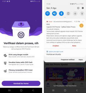 Trik Upgrade Ovo Premier di Aplikasi HP Android 100% Berhasil 4