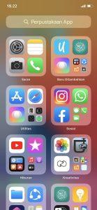 Cara Melihat Aplikasi iPhone (iOS) Berdasarkan Abjad Huruf 3