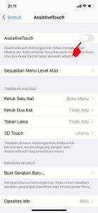 Cara Mematikan Layar HP iPhone Tanpa Tombol Power 4