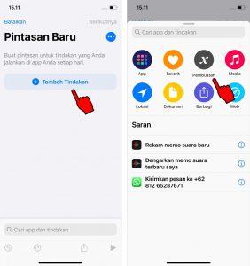 Cara Membuat Menu Navigasi Bar Android di iPhone (iOS) 2