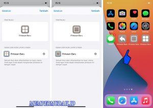 Cara Membuat Menu Navigasi Bar Android di iPhone (iOS) 6