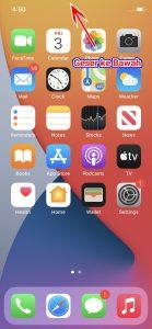 Cara Mencari Aplikasi Dengan Cepat di Menu iPhone 1