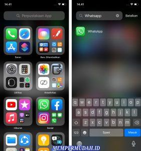 Cara Mencari Aplikasi Dengan Cepat di Menu iPhone 5