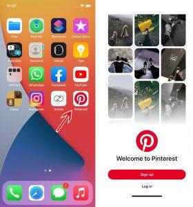 Cara Menggunakan Aplikasi Pinterest di iPhone (iOS) 2