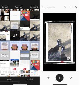 Cara Menggunakan Aplikasi Unfold di HP iPhone (iOS) 5