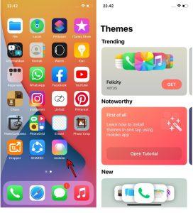 Cara Mengubah Tema dan Icon Aplikasi di iPhone Tanpa Jailbreak 2