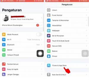 Cara Nonaktifkan Fitur Masukan Kata Sandi di App Store iPhone (iOS) 11