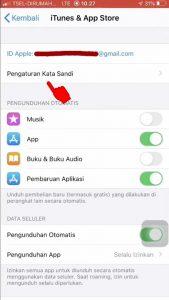 Cara Nonaktifkan Fitur Masukan Kata Sandi di App Store iPhone (iOS) 2