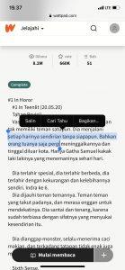 Cara Salin Teks Website Yang Tidak Bisa Melalui iPhone (iOS) 5